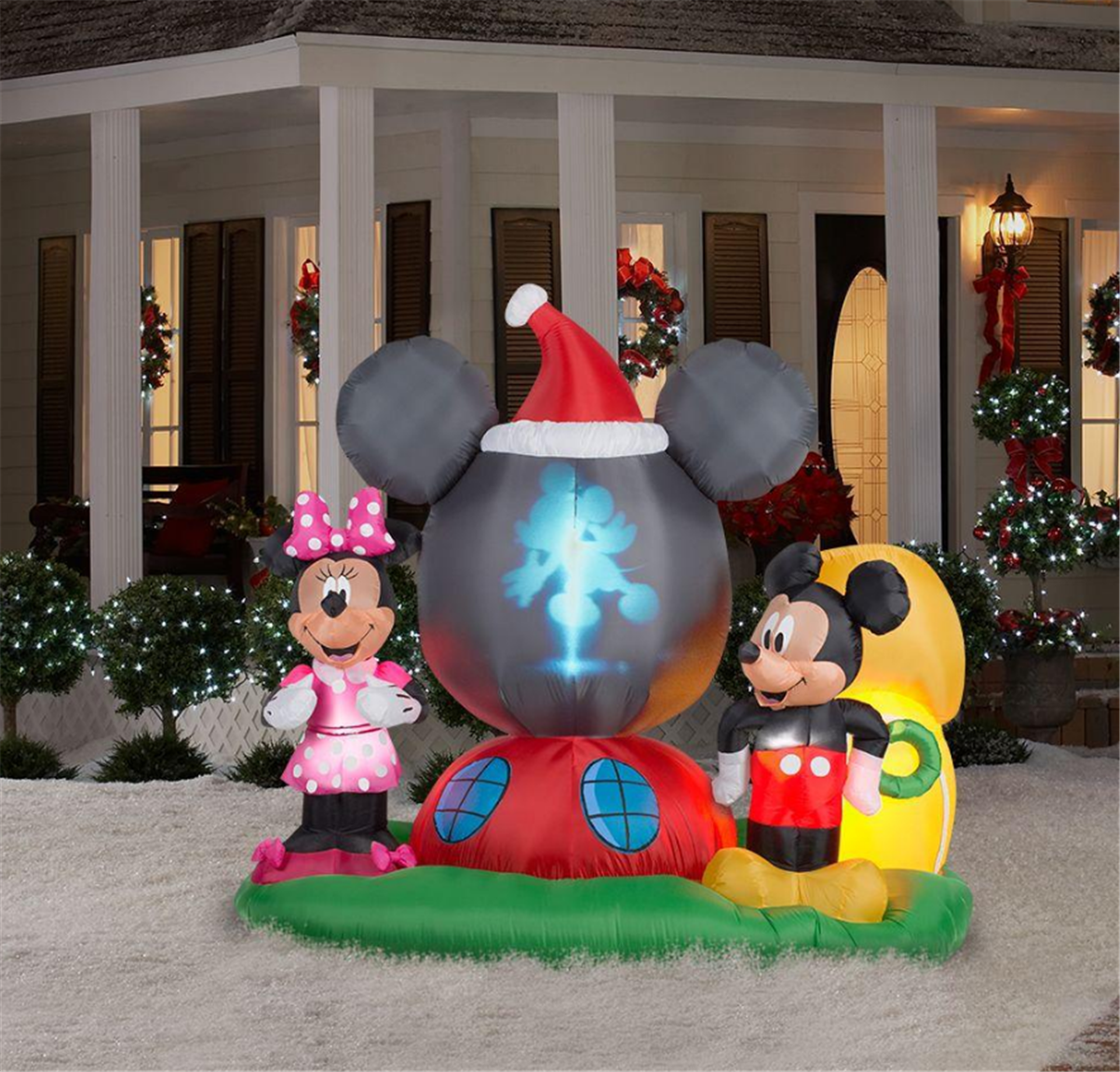 Home Depot – 6.5 ft. H Panoramic Projection Inflatable Mickey Mouse's Clubhouse Scene Only $118.30, Reg $169.00 + Free Shipping!