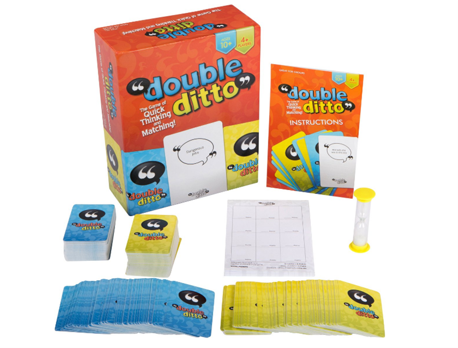 Amazon – Double Ditto Family Board Game Only $14.97, Reg $29.95 + Free Shipping!