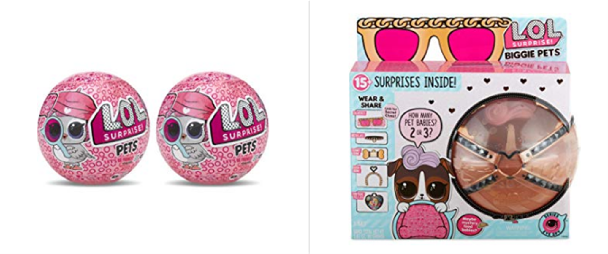 Amazon – Save up to 65% on Select L.O.L Surprise! Biggie Pet Cottontail Q.T. Only $13.99, Reg $39.99 And Lots More!
