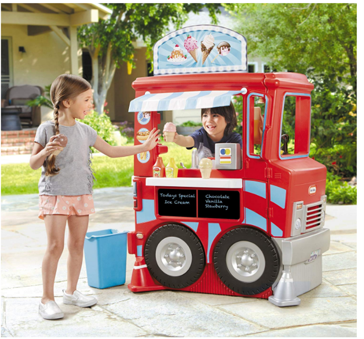 Lowes – Little Tikes 2-in-1 Food Truck Only $29.98, Reg $99.99!