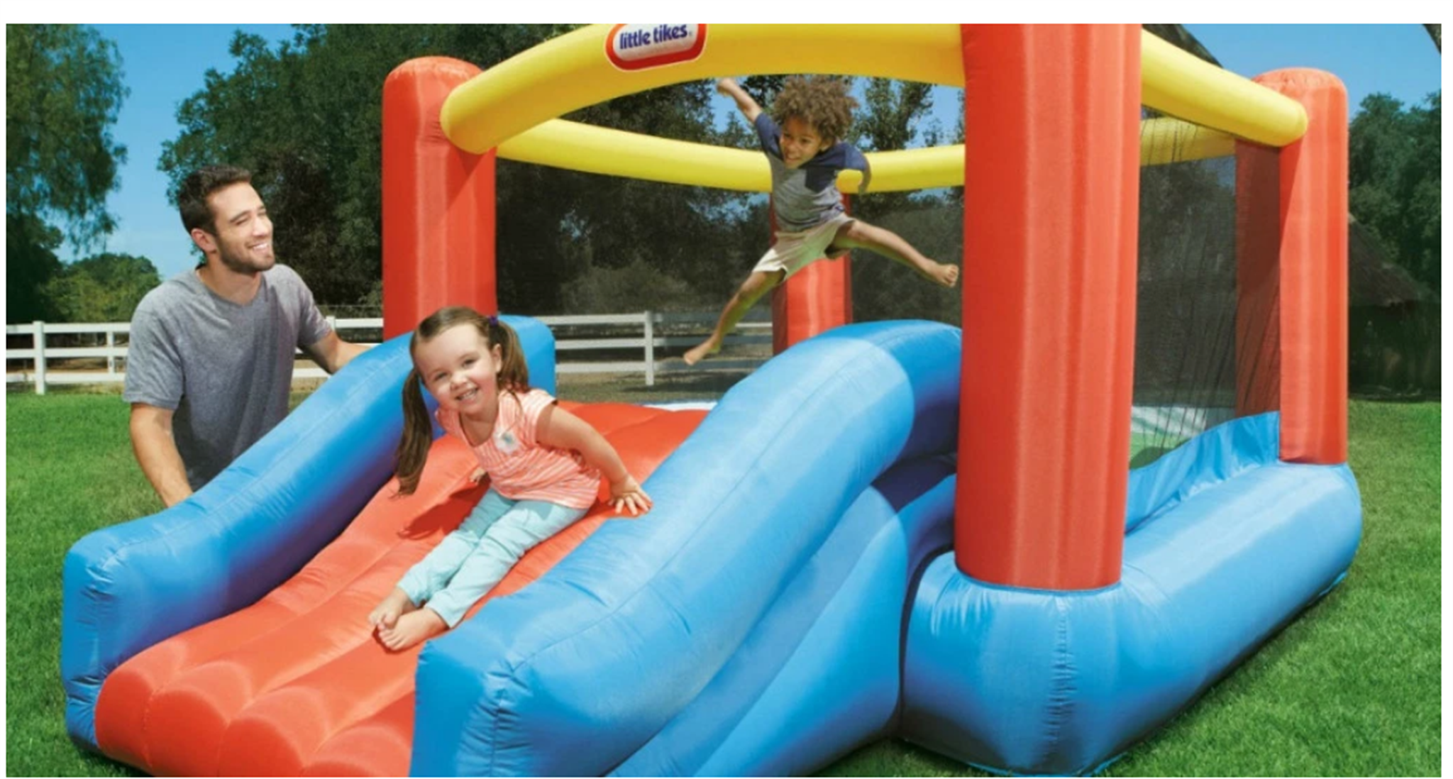 Lowes.com – Little Tikes Jr. Jump N Slide Only $49.98, Reg. $229.99 + Free Shipping! SELLING OUT FAST!