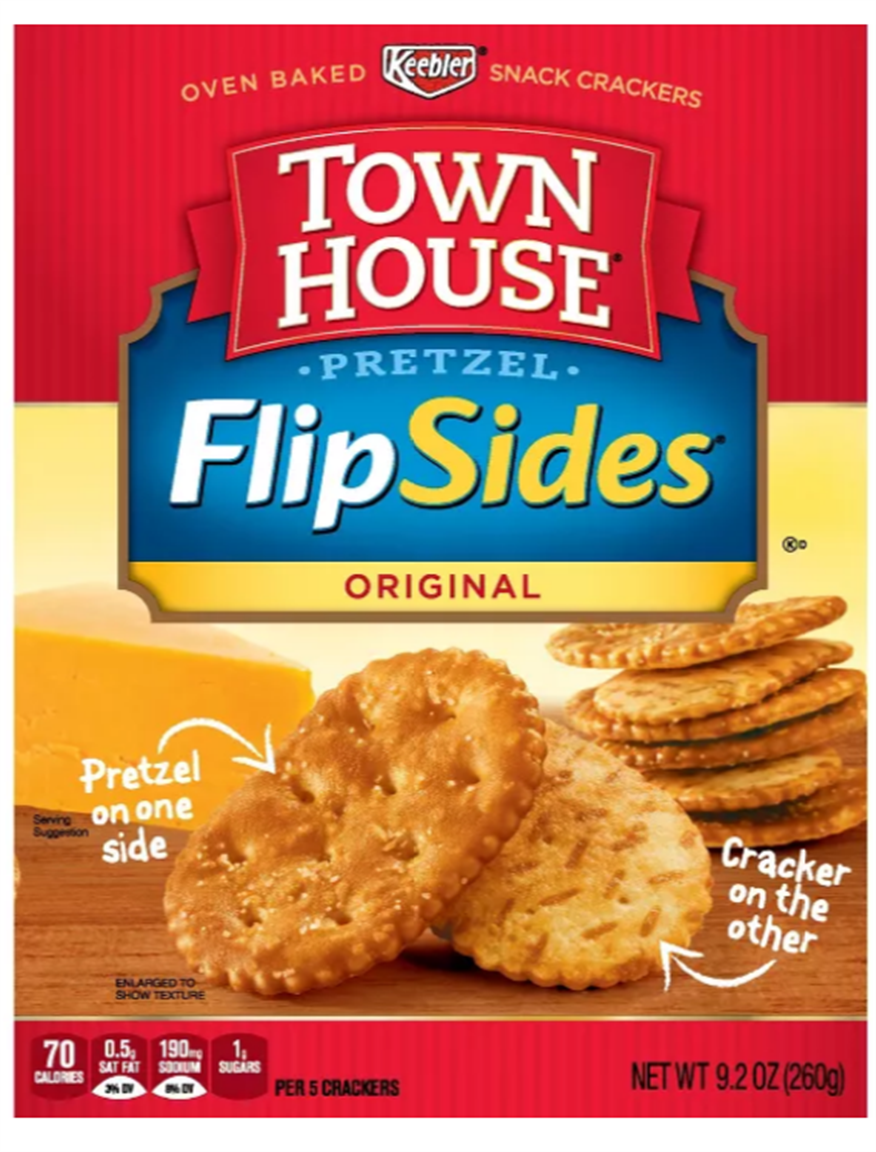 Keebler Town House Flip Side Crackers Only 58¢ at Publix