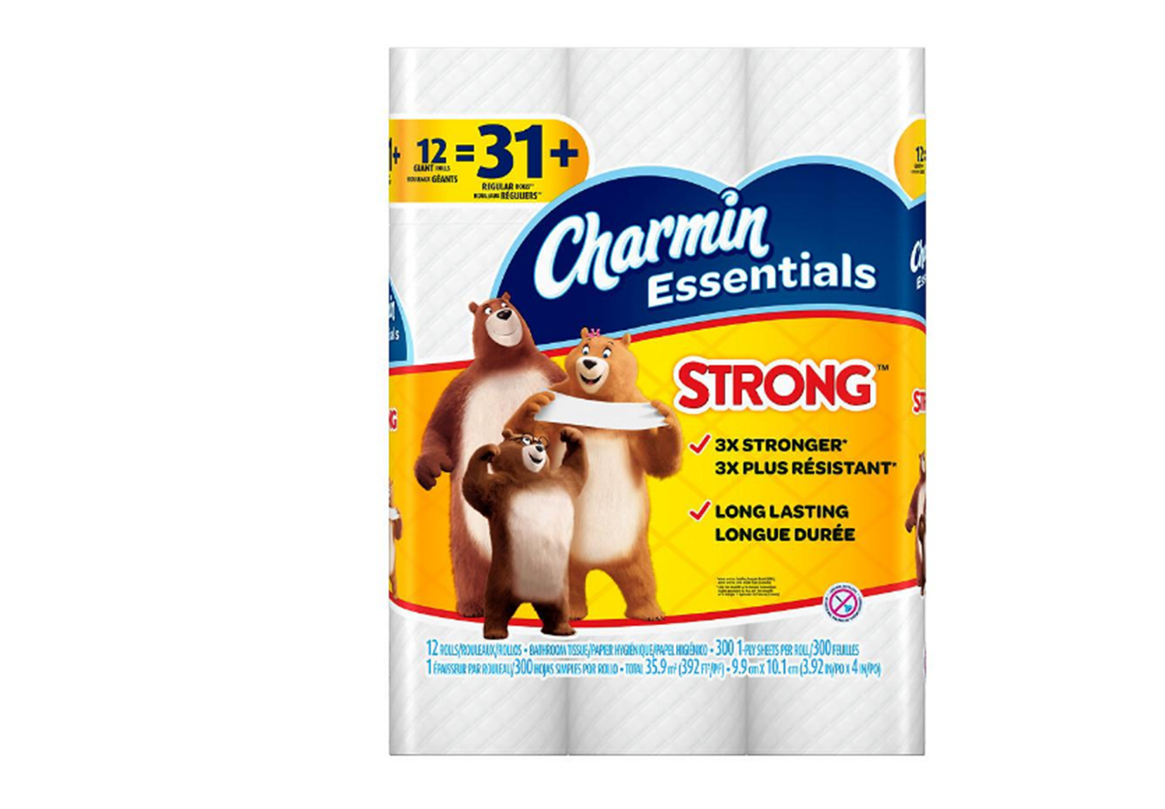 Walgreens.com – Charmin Essentials Strong 12 Giant Rolls Toilet Paper (31 Reg Rolls) Only 3.99 + Free Store Pickup!