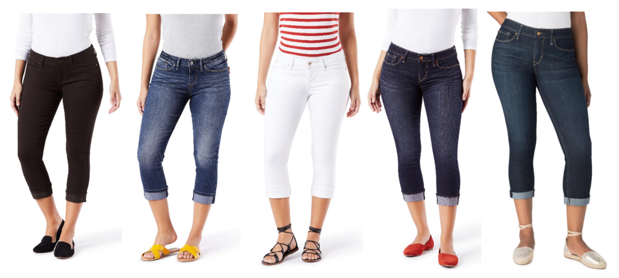 Walmart – Signature by Levi Strauss & Co. Women's Modern Capri Only $8.99, Reg $19.76!
