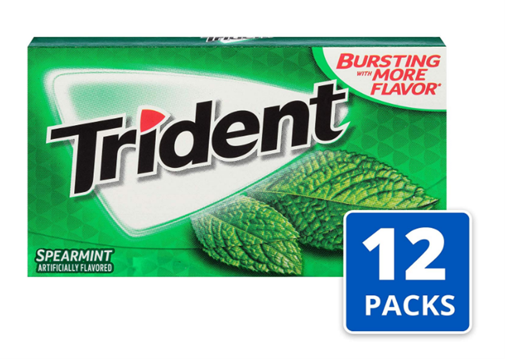 Amazon – 12 Pack of 14 Count Trident Sugar Free Gum (Spearmint) Only $5.83 + Free Shipping!