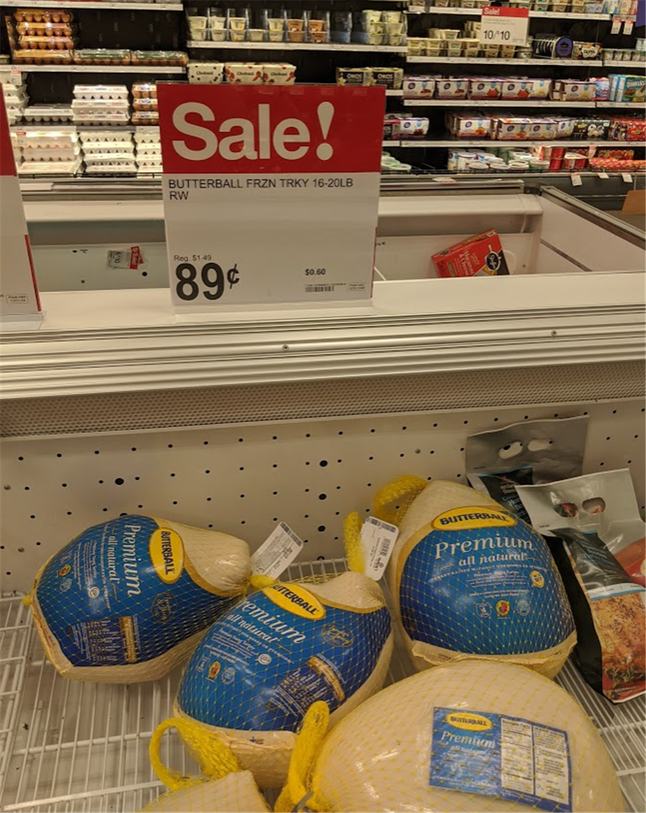 Target Circle Deals – 50% Off Butterball Turkey, Spiral Ham and Prime Rib Roast + $10 Giftcard w/$50 Purchase!