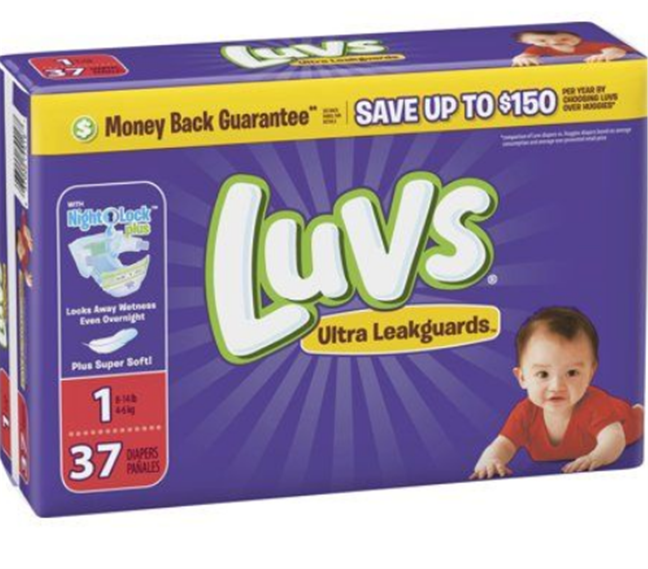 Best Deals On Diapers This week! Pampers Jumbo Packs And Luvs Only $3.36!