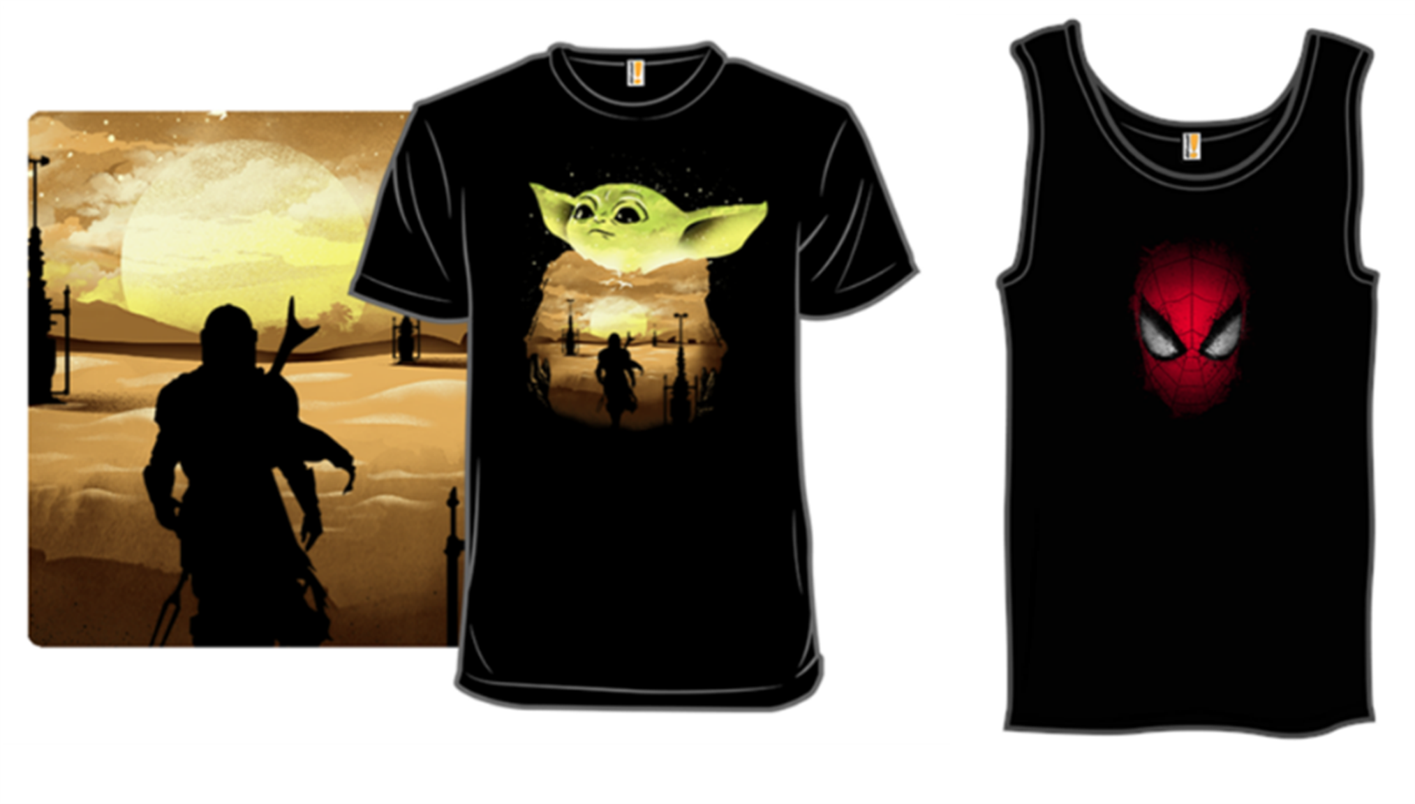 Woot.com – BOGO Free T-Shirts + Free Shipping! Yoda, Spiderman, Storm Trooper and Lots More!