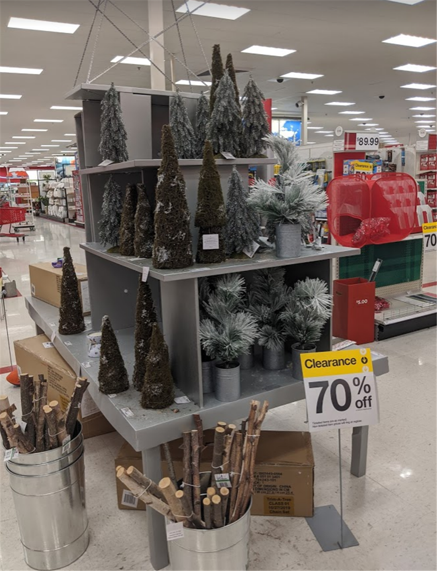 Target Christmas Items 70% Off!