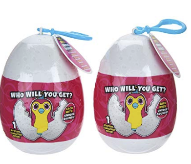 Amazon – Great Stocking Stuffer! Hatchimals 2 Pack Keychain (Backpack Clip) Only $4.24 + FREE Shipping!