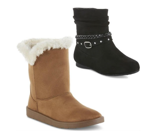 Sears.com – Women's & Girls' Boots Only $9.99 + Free Store Pickup!
