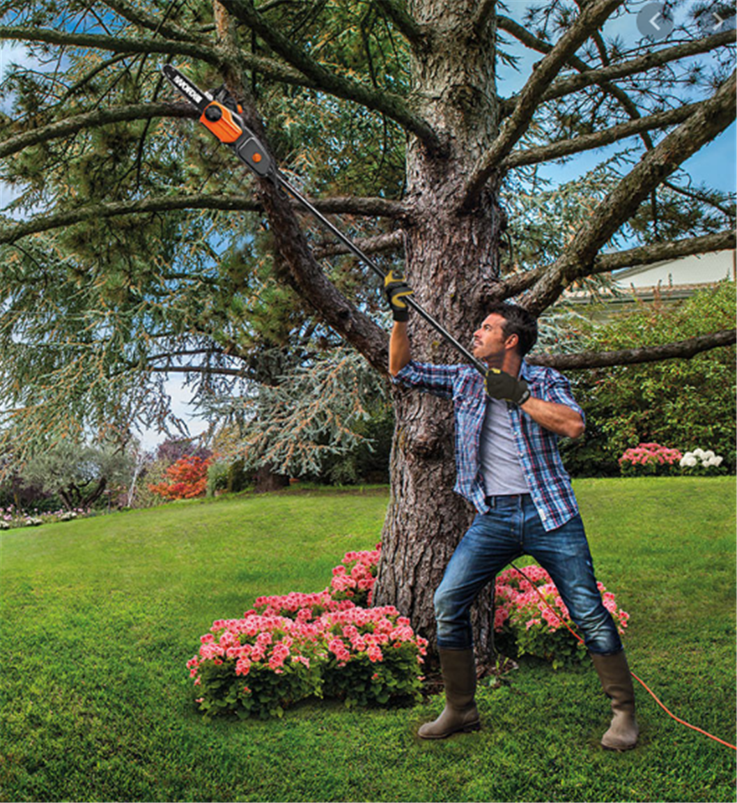 Lowes.com – WORX  8-Amp 10″ 2-in-1 Electric Pole Saw & Chainsaw Only $49.99, Reg $99.98 + Free Store Pickup!