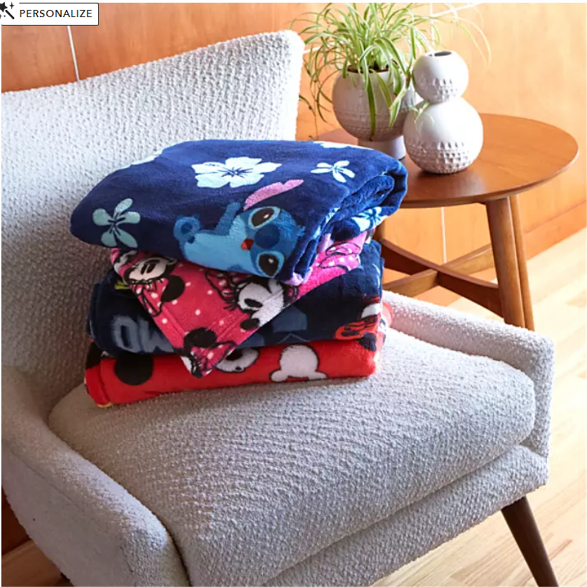 ShopDisney – Save Up To 50% + Take Extra 20% Off! Disney Fleece Throws Only $6.38, Reg $19.95!