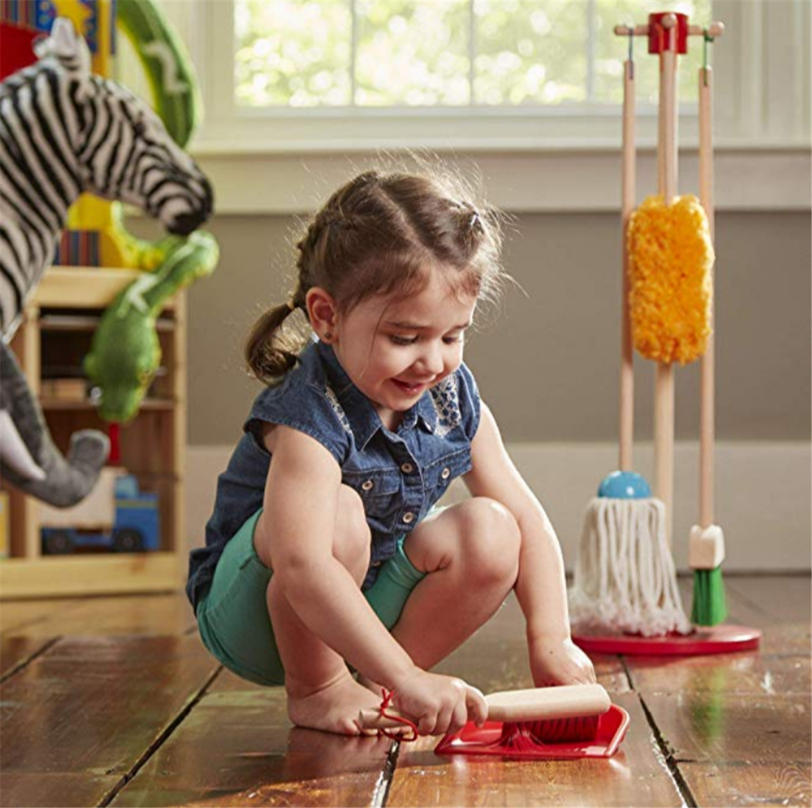 Melissa & Doug Let's Play House! Dust! Sweep! Mop! Pay Only $14.39, Reg $29.99!