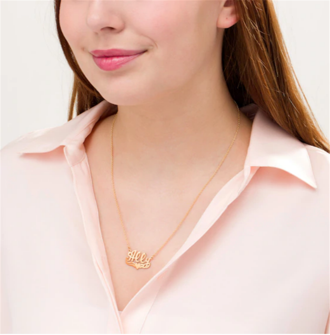 Zales – Heart Necklace in Sterling Silver with 14K Gold Plate or Sterling Silver Only $19.99, Reg $99!