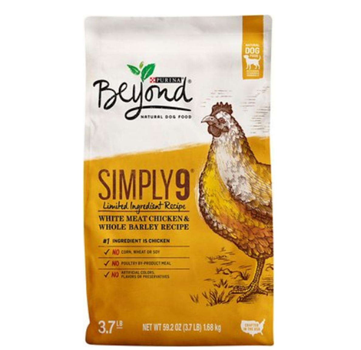 Publix – Beyond Dry Dog Food 3.7 lb bag Only 10¢ Each, Reg $8.19!