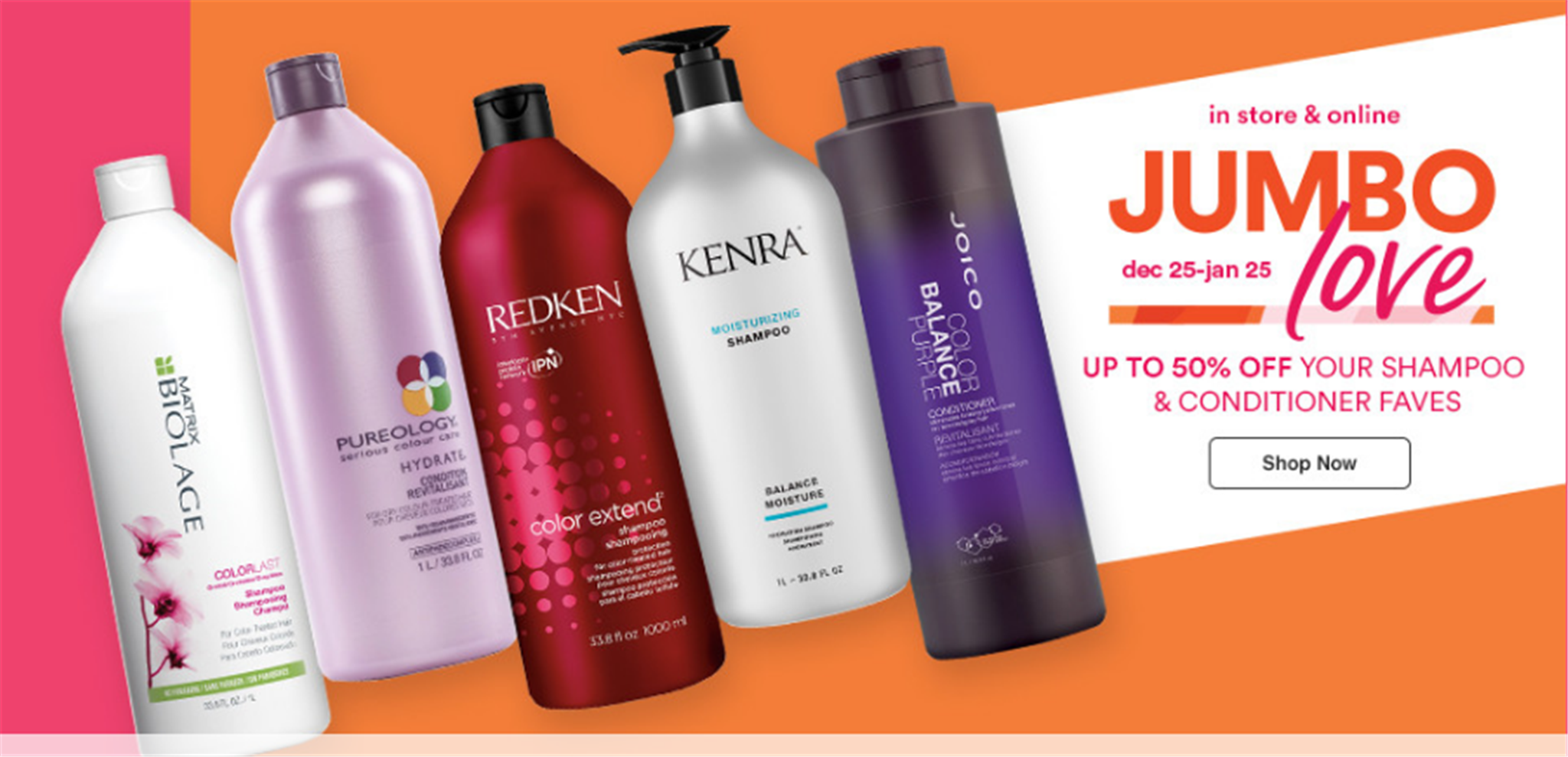 Ulta Beauty – Up To 50% Off Jumbo Hair Care + $3 Off $15 with Code! Paul Mitchell, Matrix and More!
