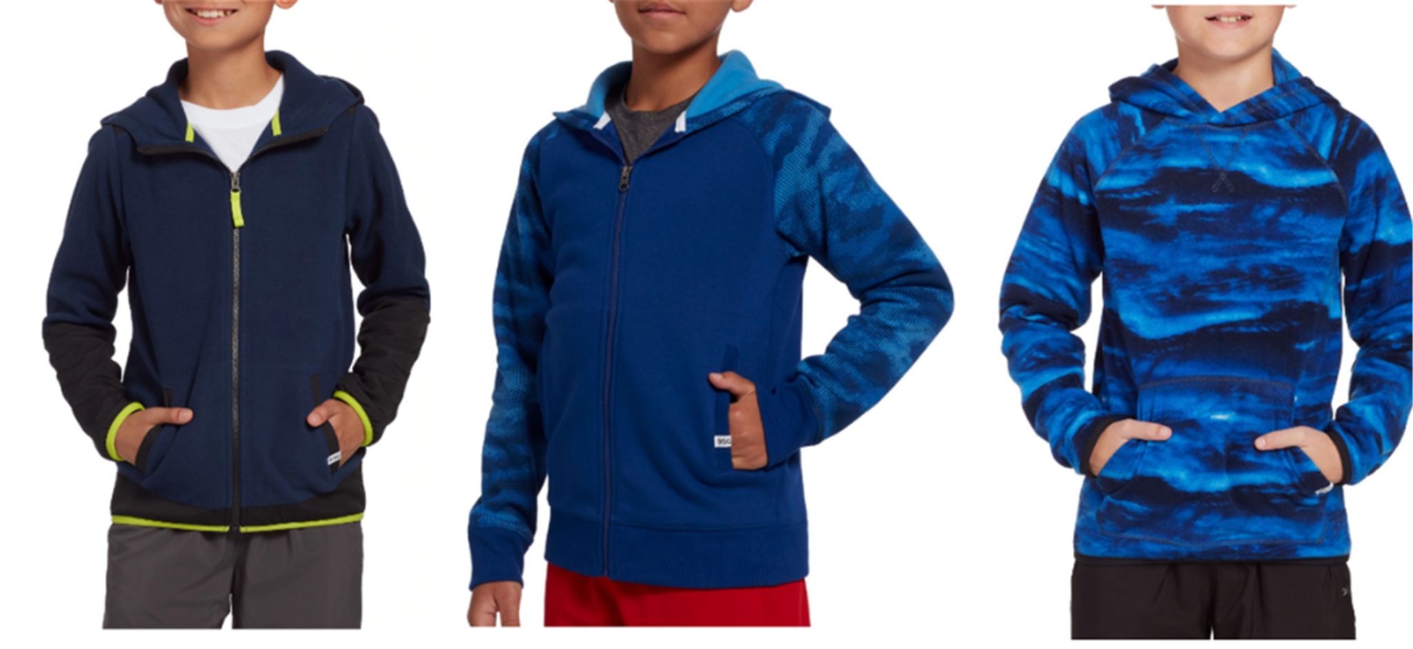 Dick's Sporting Goods – DSG Boys Fleece Hoodies Only $5.00 Each + Free Store Pickup!