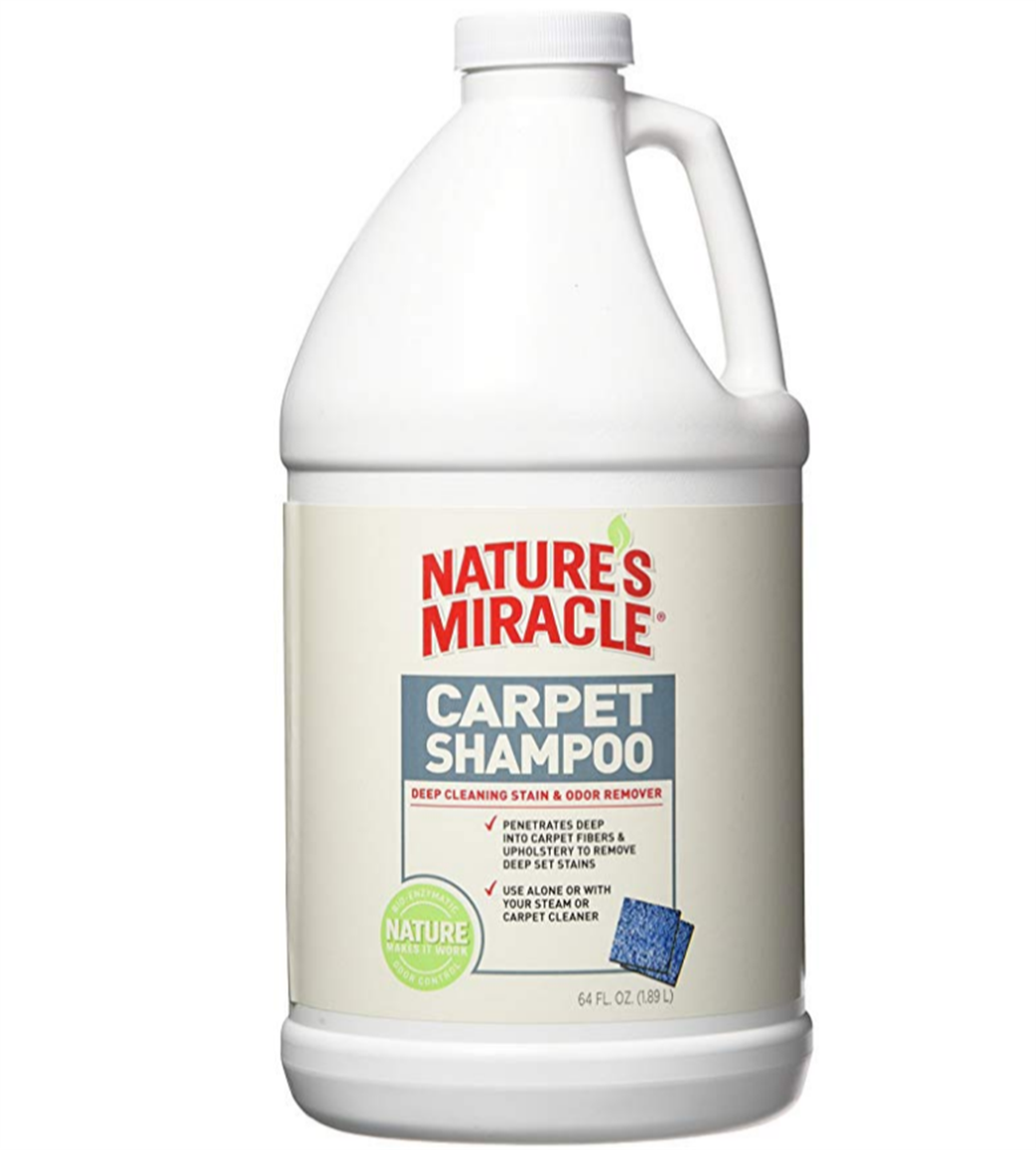 Amazon – 64oz. Nature's Miracle Deep Cleaning Pet Stains and Odor Carpet Shampoo Only $4.98 + Free Shipping!