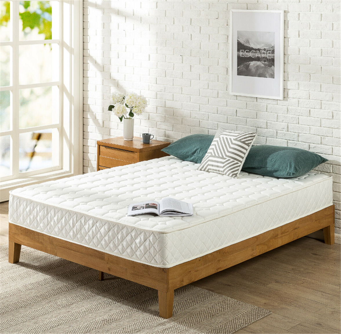 Zinus 8″ Mattress w/ Quilted Cover as Low as $36, Reg $119 + Free Shipping!