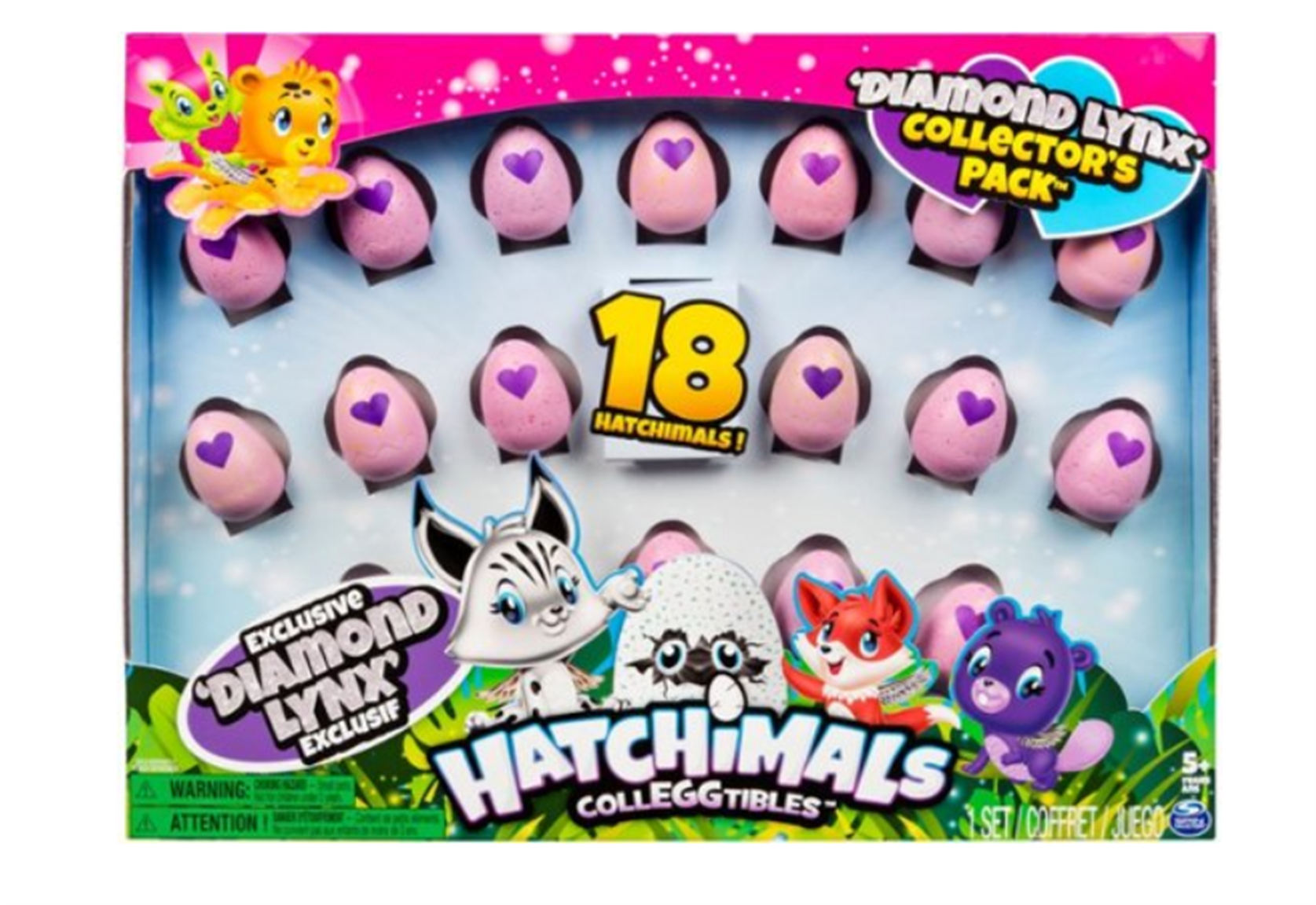 Best Buy – Hatchimals Colleggtibles Diamond Lynx Collector's 18-Pack Only $12.99, Regularly $30 + Free Store Pickup!