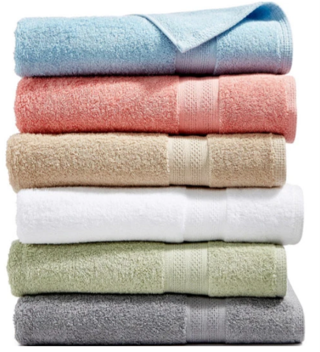 Macys.com – Soft Spun Cotton Bath Towels Only $2.99, Reg $14.00 + Free Store Pickup!