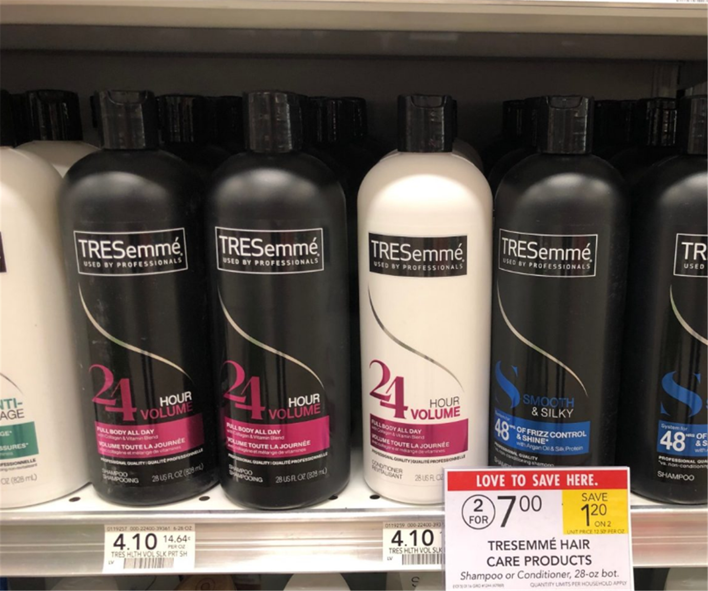 Publix – TRESemme Hair Care Only $1.50! Hurry! Expires 1/19/20!