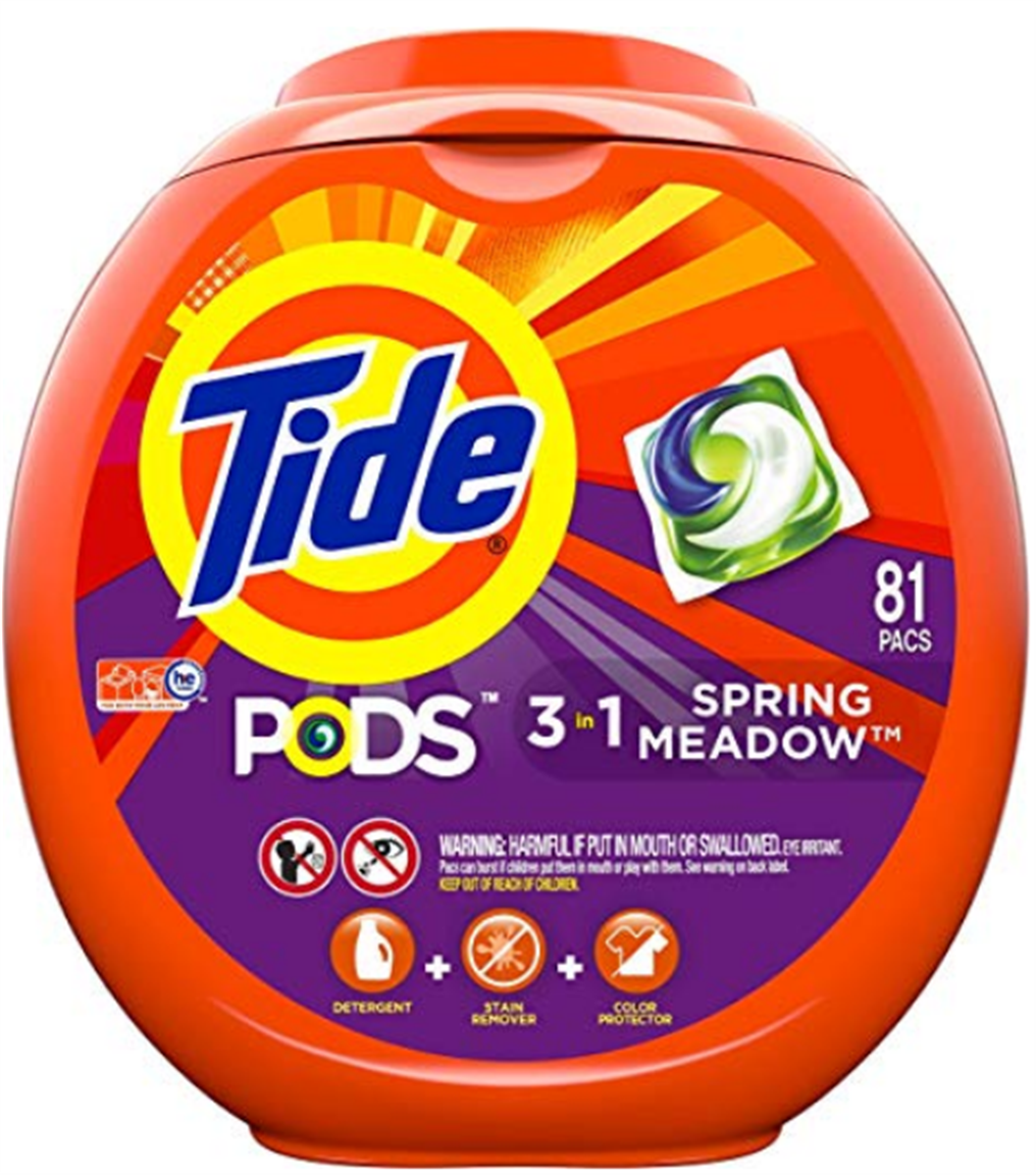 Amazon – Tide Pods (81 Count) HE Laundry Detergent Pacs Only $16.31 Shipped!
