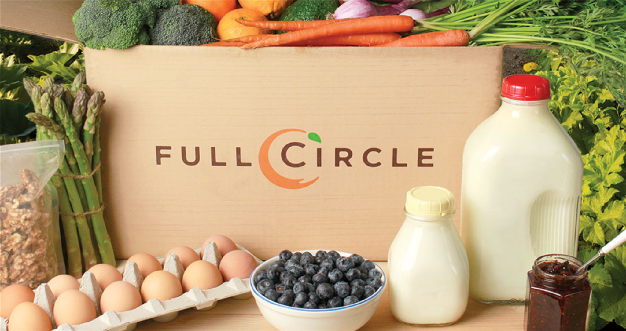 Full Circle Farm Box Delivery Service – Organic Food Delivered Right To Your Door!