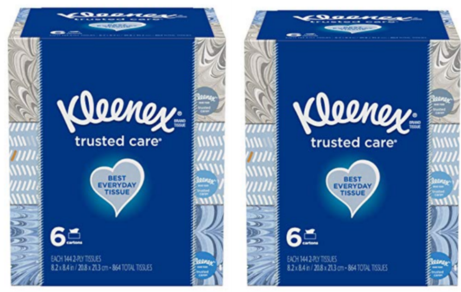 Amazon – 12 Boxes of 144-Count Kleenex Facial Tissues Only $11.98!