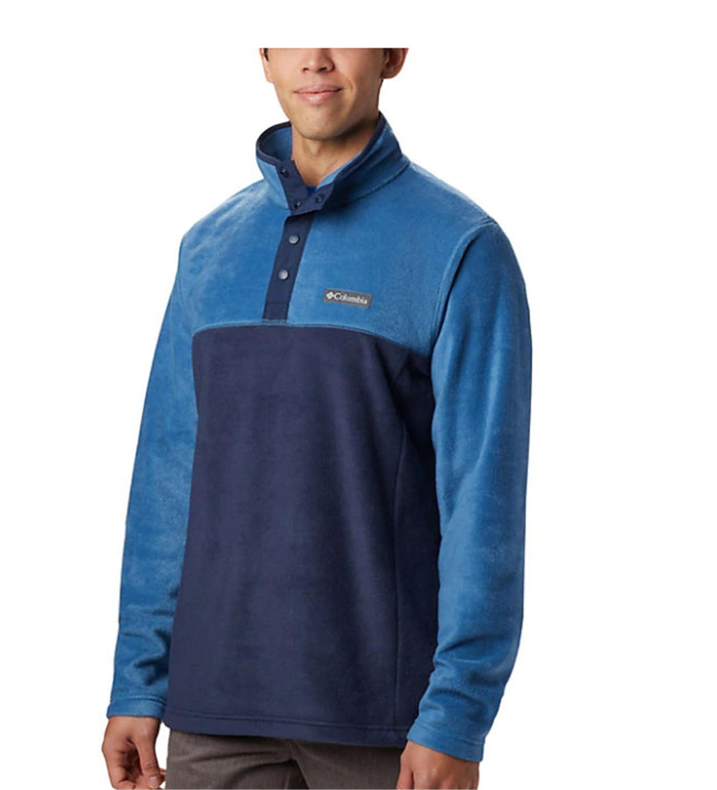 Columbia – Men's Steens Mountain Half Snap Fleece Pullover Only $17.50, Reg $34.99 + Free Shipping!