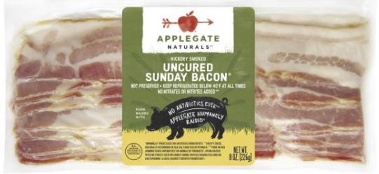 Publix – Applegate Bacon $2.06 Each