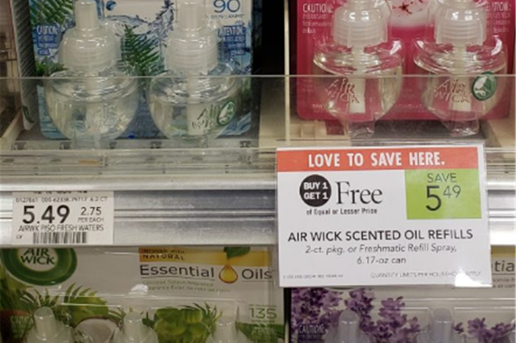 Publix – FREE 2 ct Air Wick Scented Oil Refills AND Warmer W/Coupons! PRINT NOW!!!