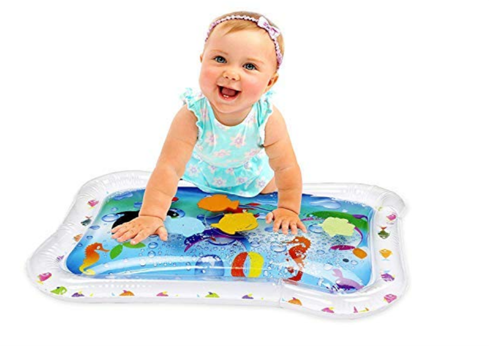 Amazon – Hoovy Tummy Time Water Baby Play Mat Only $6.99, Reg $15.99!