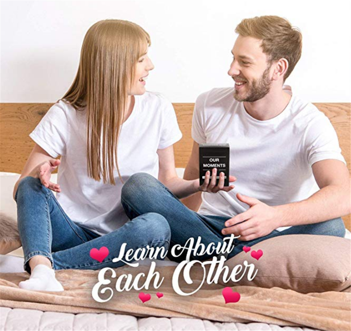 Our Moments Couples Game (Fun Conversation Card Game for Couples) Only $20.85! GREAT VALENTINE'S DAY GIFT!