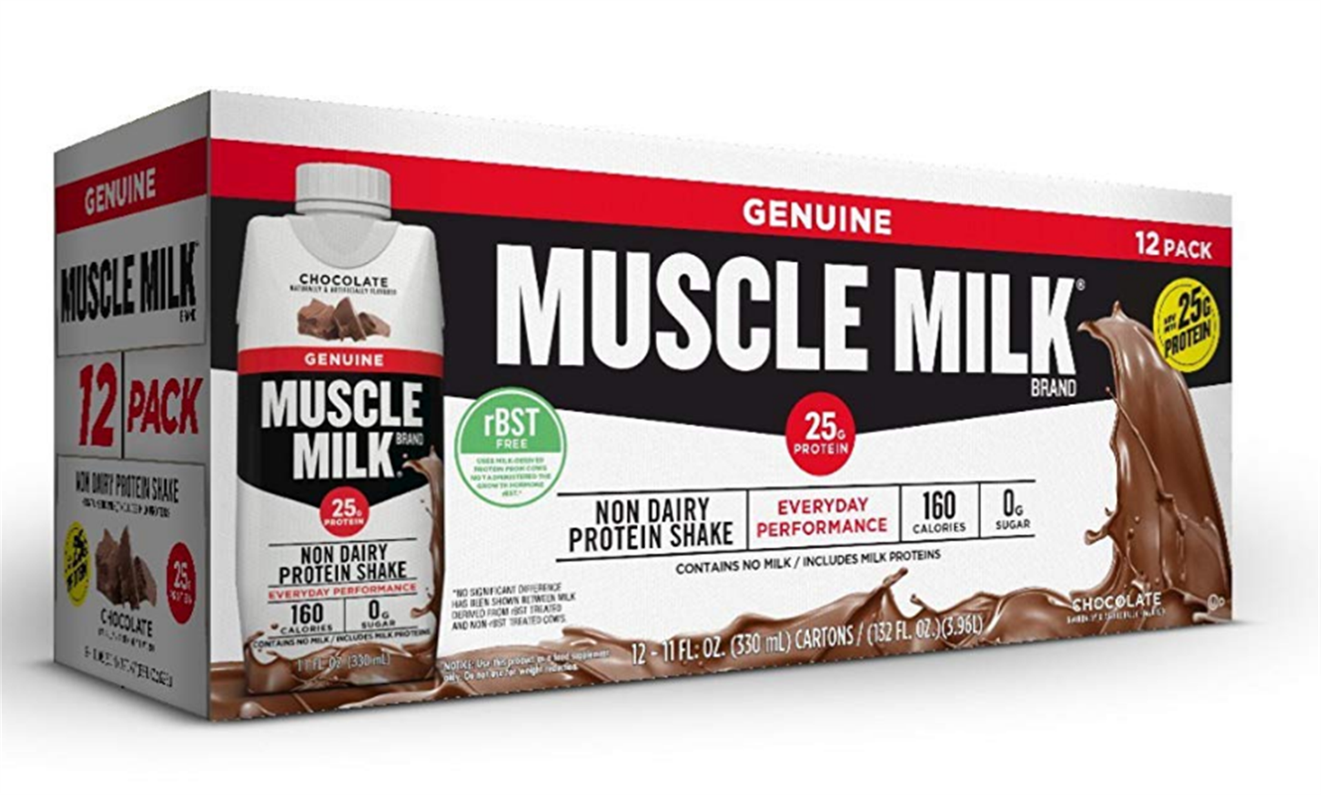 Muscle Milk Protein Shakes 12 Pack ( 25g) Chocolate (11oz) Only $8.82, Reg $13.88 + Free Shipping!