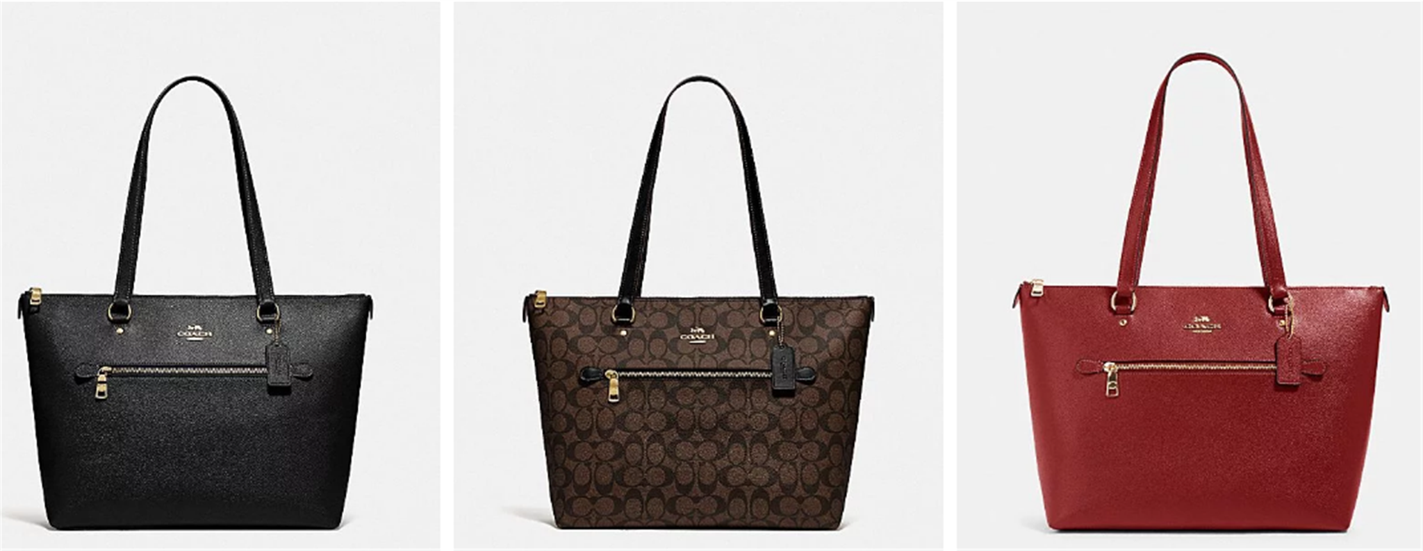 Coach Outlet – Gallery Tote (8 Styles) Only $99.00, Reg $328.00! TODAY ONLY!!!