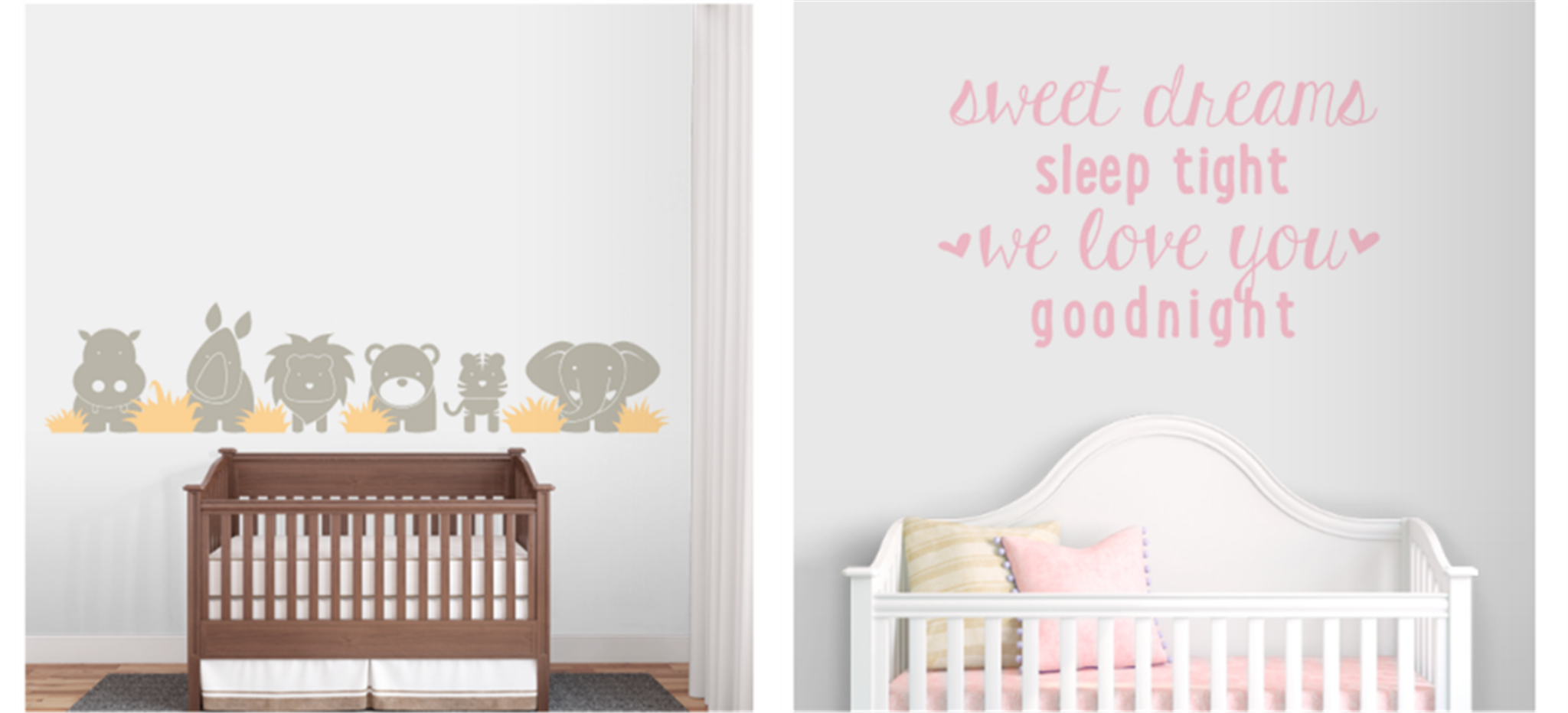 50% Off Wall Decals! $50 Worth For Only $25.00!