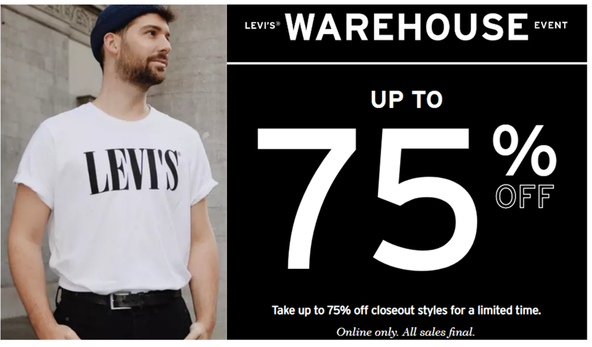 Levi's – Up To 75% Off Sale – 511 Slim Fit Cool Jeans $17 – Star Wars Kids Tee $6 And Lots More!