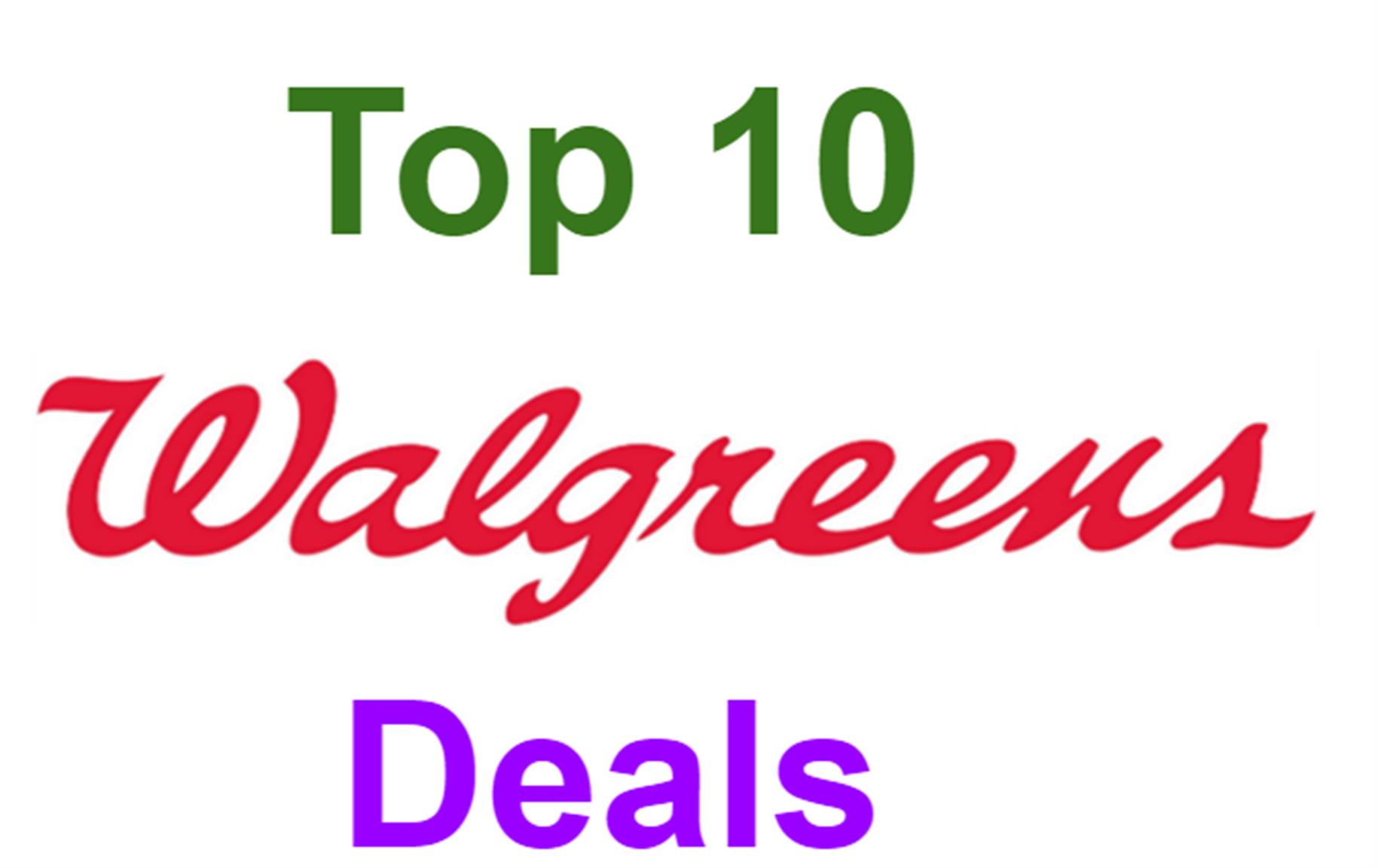 Top 10 Walgreen's Deals for 2/23-2/29