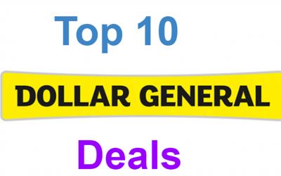 Top 10 Dollar General Deals For 6/14-6/20