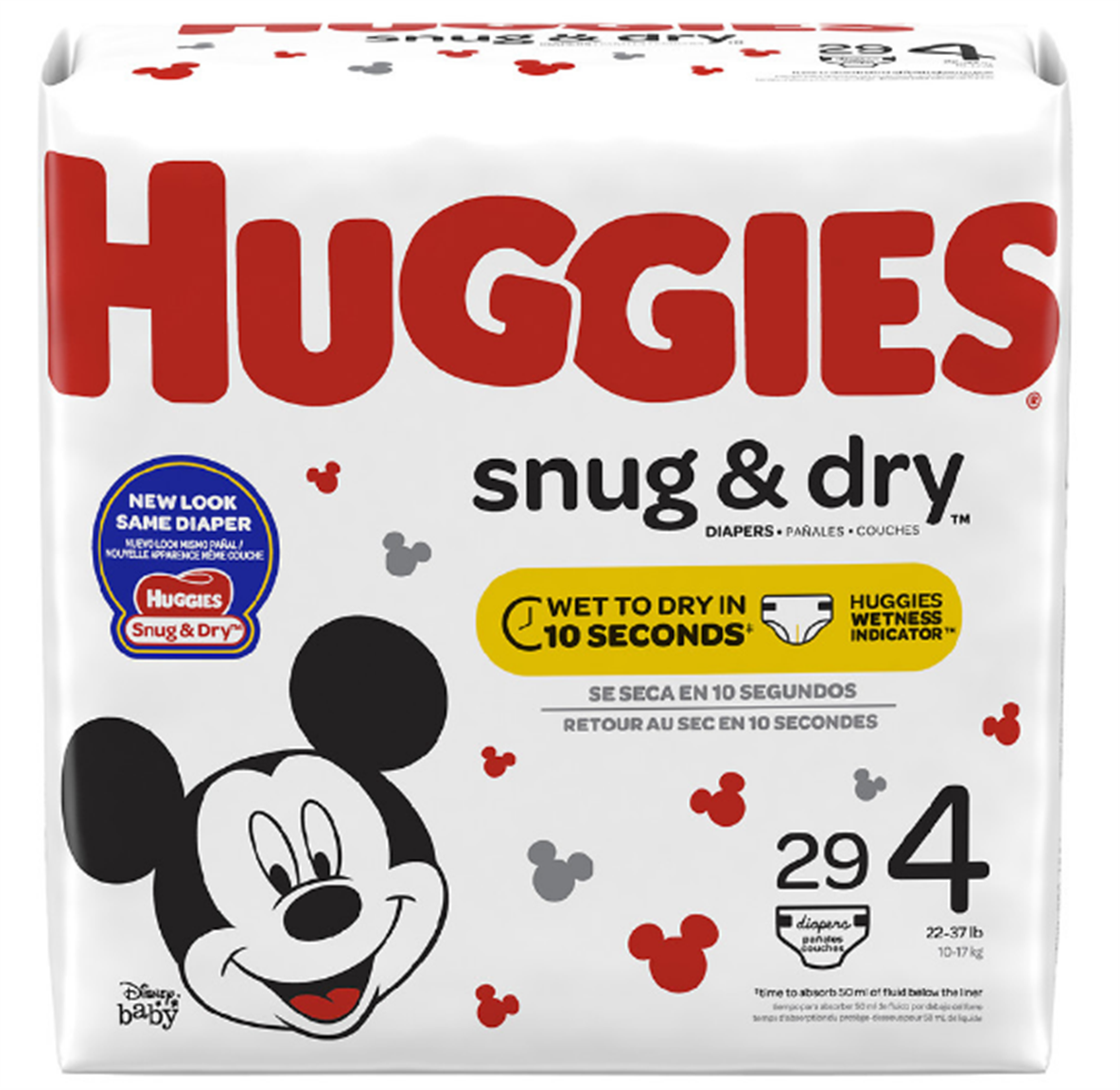 Huggies Snug and Dry Diapers, Jumbo Pack Only $2.49 Each at Publix