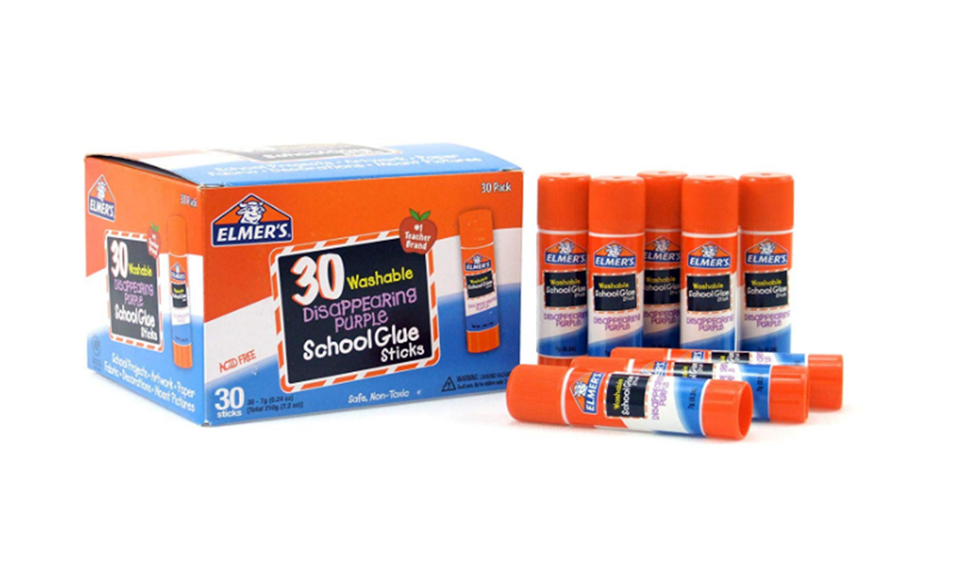 Amazon – Elmer's Disappearing Purple School Glue 30-Pack Only $5.48, Reg $14.99!