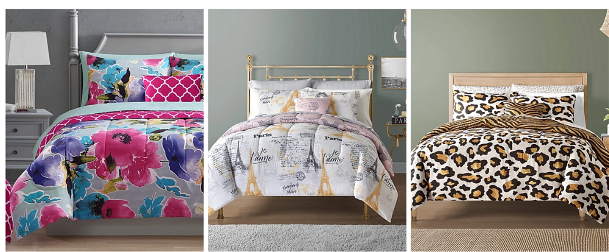 Macys.com – 12-Pc. Reversible Comforter Sets (Mult. Styles) Only $49.99 + Free Store Pickup!