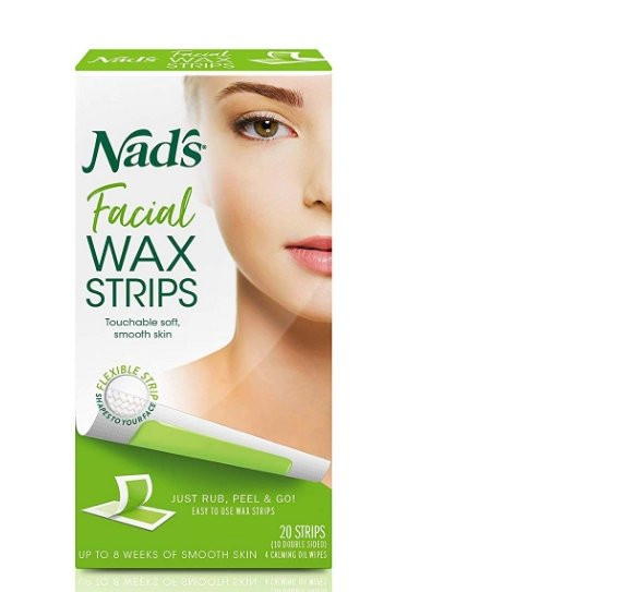 Nad's Facial Wax 20-Count Strips Only $1.92 + Free Shipping!