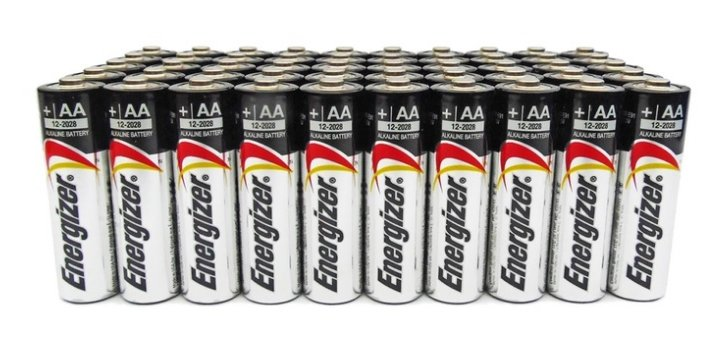 Energizer Max AA or AAA Alkaline Batteries (50-Pack) Only $23.99 at Groupon!
