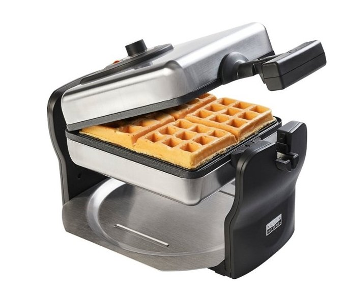 Bella Pro Series Belgian Flip Waffle Maker (Stainless Steel) $19.99, Reg $49.99 + Free Store Pickup!