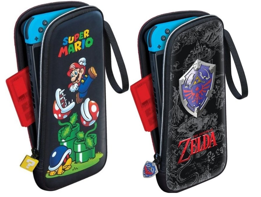 Nintendo Switch Game Traveler Slim Travel Case (Mario or Zelda) $7 + Free Store Pickup!