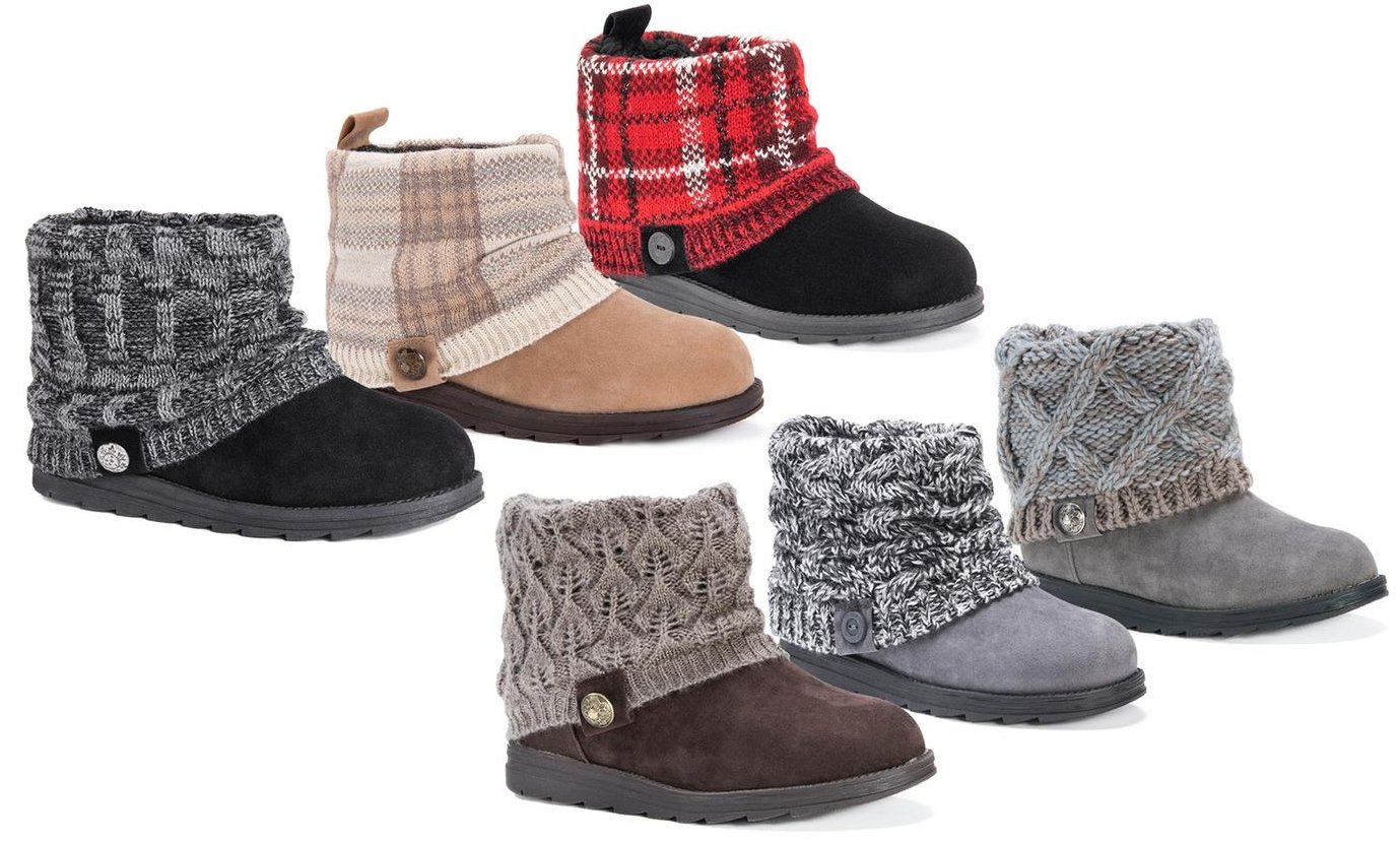 Muk Luks Women's Patti Boots (Up to Size 11) Only $9.99, Reg $76.00!