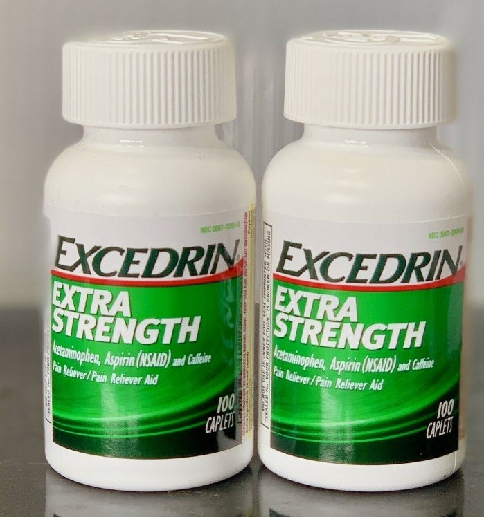 Excedrin Extra Strength Pain Reliever 100 Caps (2 Pack) Only $23.53 + Free Shipping! GRAB NOW! STORES ARE SOLD OUT!